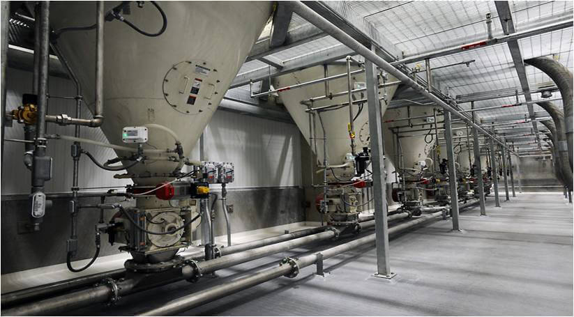 Petrosadid: Pneumatic Conveying Systems
